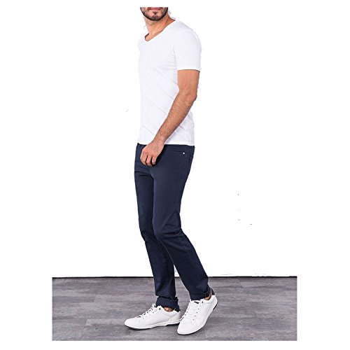 Tiffosi Herren Slim Jeans John_199 Blau