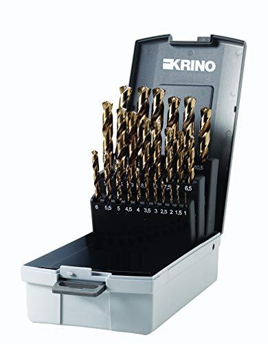 i.RoseBox Ruko HSS-G Co5 Spiralbohrersatz 1-13mm 25tlg