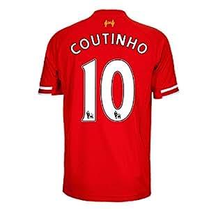 2013-14 Liverpool Home Shirt (Coutinho 10) - Kids
