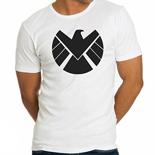Agents Of S.H.I.E.L.D. Shield Logo Large Uomini T-Shirt