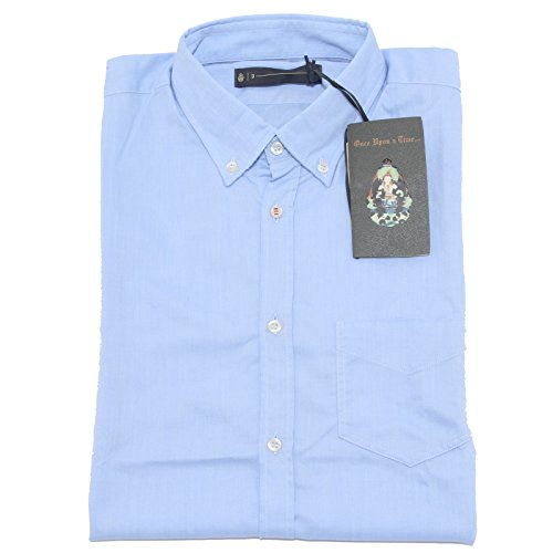 76345 camicia DONDUP short sleeve camicie uomo shirt men [XL]