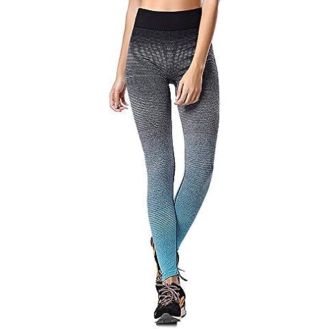 Donna Sport Pantaloni, YOKIRIN Leggings Esecuzione Yoga