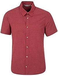 Mountain Warehouse Weekender T-shirt Homme Manches Courtes Confort Respirant Léger Tee-shirt Top