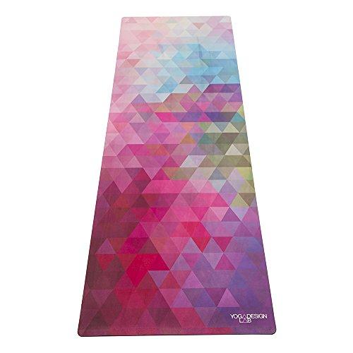 Yoga Design Lab Il Combo Mat. Mat/Telo Non scivoli più quando sudi. Lavabile in lavatrice. Materiali eco-compatibili. Per Bikram, Hot Yoga, Pilates, o per altri Allenamenti. (Tribeca Sand)