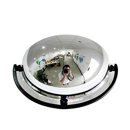 Geng Konvexspiegel,Viertelkugelförmiger Spiegel Comprehensive Umfassender Acrylsicherheitsspiegel,Weitwinkelobjektiv Weitsicht Für Mehr Sicherheit (Size : 80cm)