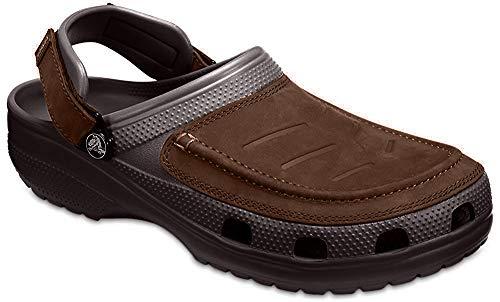 crocs Herren Yukon Vista Clog Badeschuhe, Braun (Brown 205177-22Z), 43/44 EU