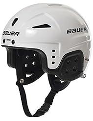 Bauer Helm Helmet LIL Sport - Casco de hockey sobre hielo, color blanco, talla XS