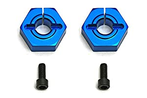 Team associated ae9891-12mm Aluminum Clamping Wheel hexes, Buggy Frontal