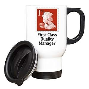 First Class responsable qualité-Tasse de voyage-Rouge