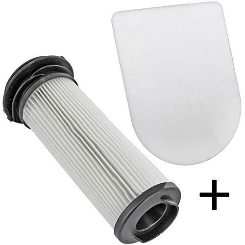 1-post-motor-filter (spares2go Pre + Post Motor Auspuff Filter Set für Bosch Athlet BCH7 Serie schnurlose Staubsauger 1 of Each Filter (2 Total))