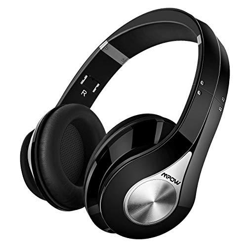 Mpow 059 Bluetooth Kopfhörer Over Ear, [Bis zu 20 Std] Kabellose Kopfhörer mit Hi-Fi Stereo, Dual 40mm Treiber, Over Ear Kopfhörer mit CVC 6.0 Noise Canceling für Integriertem Mikrofon Freisprechen (Wireless Bluetooth Kopfhörer Tv)
