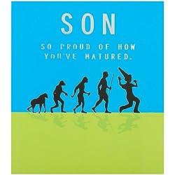 Hallmark Geburtstagskarte für Sohn,So Proud, englischer Text– klein