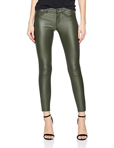Enge Für Jeans Frauen (ONLY Damen Skinny Jeans Onlkendell Reg Sk Ank Coated Pnt Bj Noos, Grün (Kalamata), 36/L32)