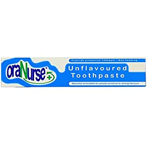 Oranurse 50ml Unflavoured Toothpaste