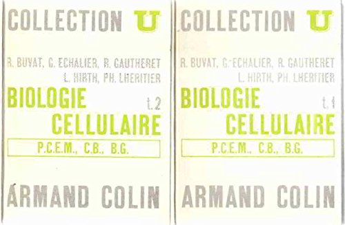 Biologie cellulaire / tome 1+2