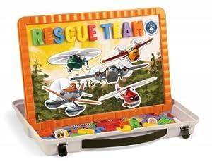 Quercetti 05249-Juegos WD magnetino Planes Fire & Rescue