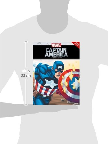Captain America Origin Story Yr HC (Marvel Origin Story)