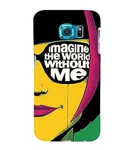 FIOBS Imagination vs reality Designer Back Case Cover for Samsung Galaxy S6 Edge+ :: Samsung Galaxy S6 Edge Plus :: Samsung Galaxy S6 Edge+ G928G :: Samsung Galaxy S6 Edge+ G928F G928T G928A G928I