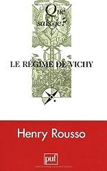 Le régime de Vichy by Henry Rousso (2007-02-09)