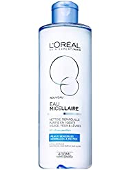 L'Oréal Paris Eau Micellaire pour Peaux Normales à Mixtes 400 ml