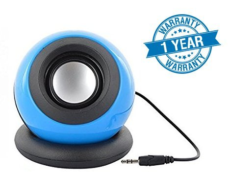 Wonderford High Quality True Sound Z46 Multimedia Speaker With Active Amplifier, Deep Bass and High Treble Great for Parties and Everyday Use Compatible With Xiaomi Mi, Apple iPhone & iPad, Samsung, Sony, Lenovo, Oppo, Vivo and All Smartphones (1 Year Warranty, Assorted Colour)  available at amazon for Rs.249