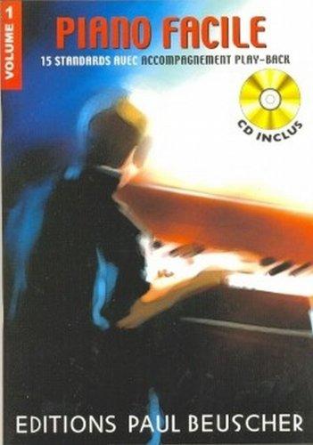 Partition : Piano facile vol. 1 + CD