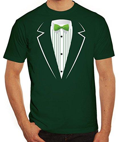 Saint Patrick's Day St. Patricks Day Herren T-Shirt St. Patricks Suit Dunkelgrün