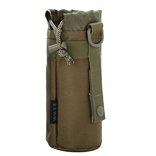Im Freien Sport Tactical Gear militärische Trinkflasche Tasche Wasserkocher Pack f Khaki