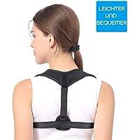 Haltungskorrektur Rücken, SKEY rückenstütze Geradehalter Schulter Rückenstütze Rückenstabilisator für Damen und... preisvergleich bei billige-tabletten.eu