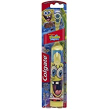 Colgate Kids Sponge Bob Powered Toothbrush, Pack of 2