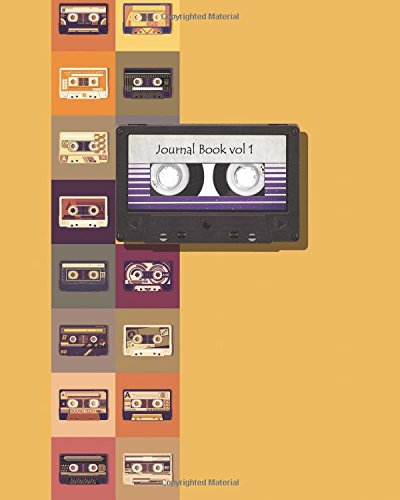 Cassette journal book  notebook storybook diary book