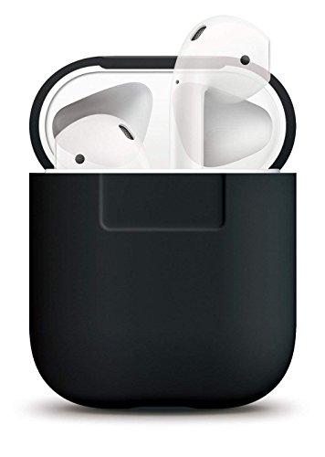 elago Airpods Case Funda Protectora - [Extra protección] [Ajuste Cover] [sin complicaciones] - para Apple Airpods Caso (Negro)