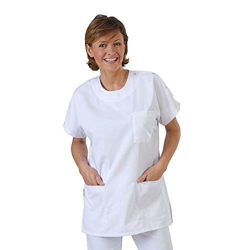 Label blouse - camice da laboratorio - donna bianco m