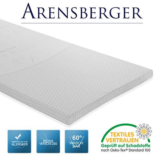Arensberger Visco Schaum VS6 Matratzenauflage/Topper, 140 x 200 cm