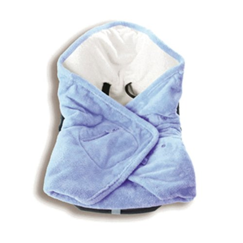Baby Boum Super Soft 2.3 Tog Polstar Car Seat and Pram Blanket (Sky Blue)