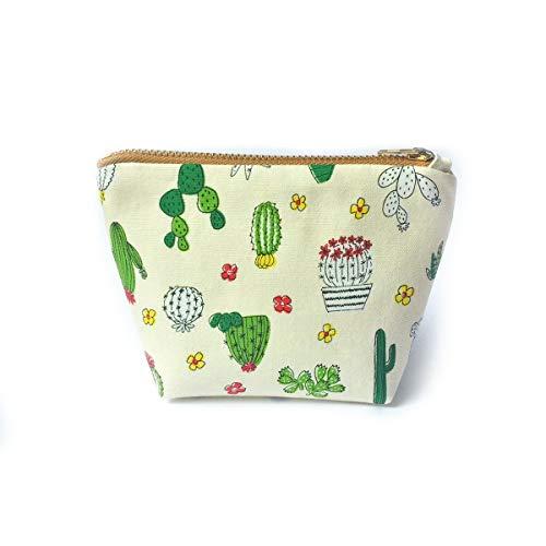Cute Cactus Coin Purse Wallet, S...