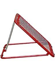 Rebounder 100 cm x 100 cm, Farbe: rot - Tchoukball-Rahmen, Netzrückprallwand