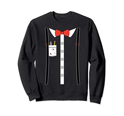 Nerd Kostüm-Shirt Sweatshirt - Nerd Kostüm Shirt