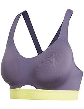 adidas Stronger SFT Sujetador Deportivo, Mujer, Púrpura (Purtra), S C/D