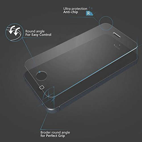 "Preisvergleich Produktbild G4GADGET® Iphone 6 ""Anti-Explosion"" Tempered Glass Crystal Clear Screen Protector for iphone 6"