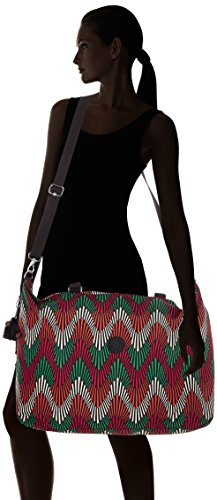 Kipling - XL Bag - Bolso de week-end - Rainy Day - (Gris) Multicolore (Tropic Palm Ct)
