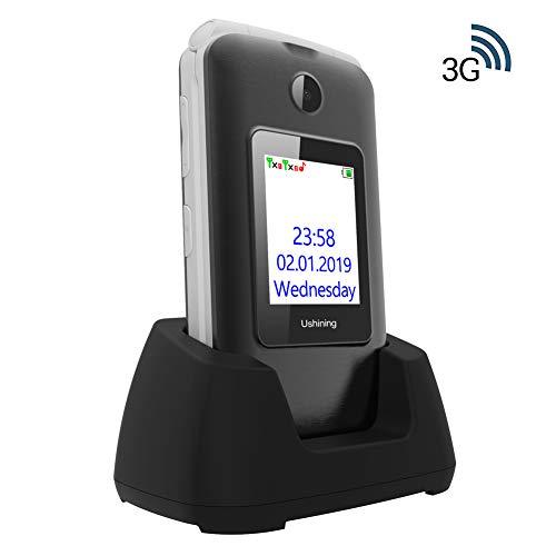 Ukuu 3g telefono cellulare per anziani con tasti grandi 2.8