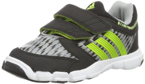 adidas Adipure Trainer 360 CF M22482 Baby Jungen Lauflernschuhe, Grau (Mid Grey S14/Solar Slime/Black 1), EU 22 (Adipure Adidas Trainer)