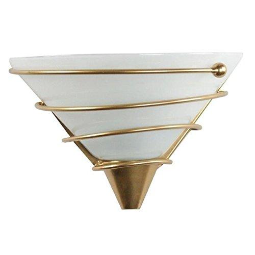 Applique in vetro spiralito oro