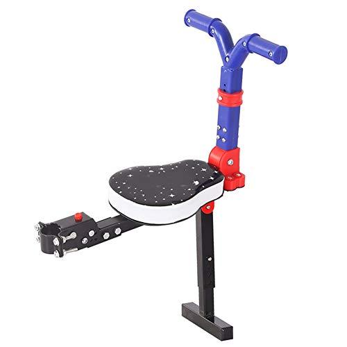 Dbtxwd Elektrische Fahrradsicherheitssitze Vordersitz für Kindersitz mit Armlehne für Elektroroller & Räder Roller & Felgen Zubehör,B