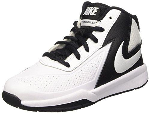 Nike Team Hustle D 7 (PS), Chaussures de Sport-Basketball Garçon