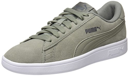 618132b6d8 Puma Smash v2, Sneakers Basses Mixte Adulte, Gris Rock Ridge, 37 EU