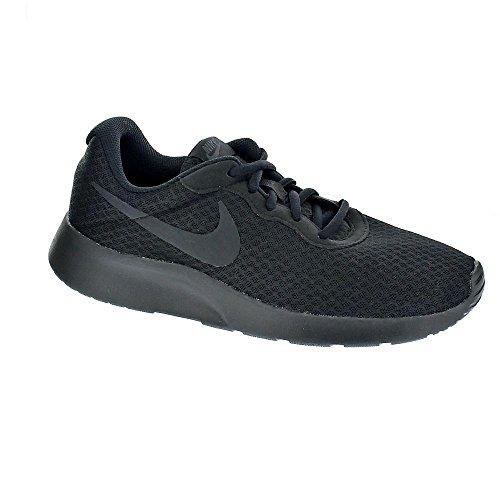 Nike Sportschuhe Turnschuhe (Nike Herren Tanjun Laufschuhe, Schwarz Black-Anthracite 001, 43 EU)