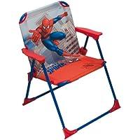 Arditex SM6308 - Sillón plegable, 52 x 35 x 30 cm, diseño Spiderman