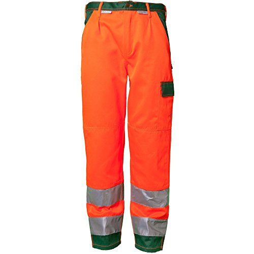 PLANAM - Warn Bundhose - Tragekomfort vom Feinsten. orange/grün